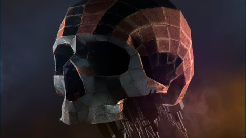 Hard Surface Skull